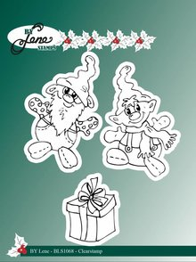 By Lene Clear Stamps Gnomes 2 (BLS1068)