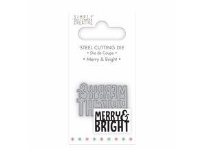 Simply Creative Merry & Bright Die (SCDIE055X18) OP=OP!