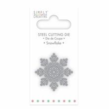 Simply Creative Snowflake Die (SCDIE056X18) OP=OP!