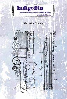 IndigoBlu Artist's Tools A6 Rubber Stamp (IND0442)