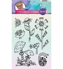 Studio Light Diny's Signature Collection 02 Clear Stamps (STAMPDS02)