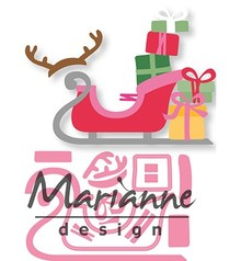 Marianne Design Collectable Eline's Sleigh (COL1460)