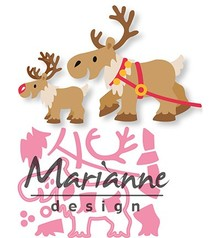 Marianne Design Collectable Eline's Reindeer (COL1461)