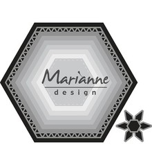 Marianne Design Craftable Basic Set Hexagon (CR1444)