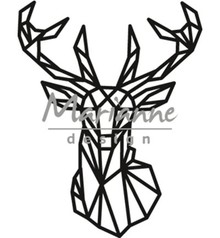 Marianne Design Craftable Geometric Deer (CR1445)