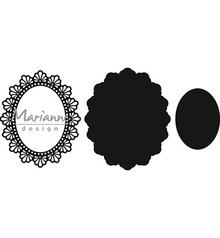 Marianne Design Craftable Twine Oval (CR1446)