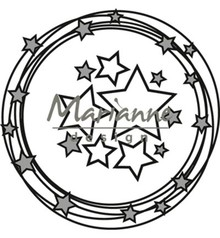Marianne Design Craftable Circle & Stars (CR1447)