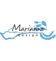 Marianne Design Creatable Tiny's Peanut Garland and Branch (LR0558)