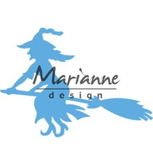 Marianne Design Creatable Witch On Broomstick (LR0561)