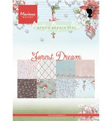 Marianne Design Forest Dream A5 Pretty Papers Bloc (PK9158)