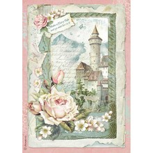 Stamperia Rice Paper A4 Castle Fantasy (DFSA4347)