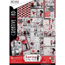 Ciao Bella Papercrafting Loving In The Rain A4 Creative Pad (CBC008)