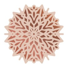 Couture Creations Highland Christmas Poinsettia Doily Cut, Foil & Emboss Die (CO726308)