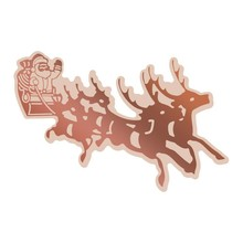 Couture Creations Highland Christmas Santa's Sleigh Cut, Foil & Emboss Die (CO726309)