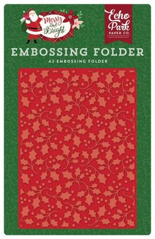 Echo Park Holly Branch 12,7x14,9 cm Embossing Folder (MB160030)