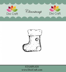 Dixi Craft Clear Stamp Christmas Sock (STAMPL028)
