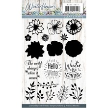 Precious Marieke Winter Flowers Clear Stamp Set (PMCS10037)