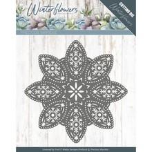 Precious Marieke Winter Flowers Floral Snowflake (PM10140)