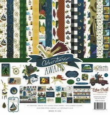 Echo Park Adventure Awaits 12x12 Inch Collection Kit (AA163016)