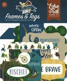 Echo Park Adventure Awaits Ephemera Frames & Tags (AA163025)