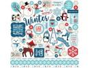 Echo Park Celebrate Winter Element Stickers (CW162014)