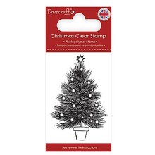 Dovecraft Clear Stamp Christmas Tree (DCSTP168X18)