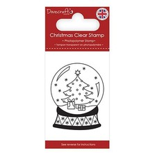 Dovecraft Clear Stamp Snow Globe (DCSTP171X18)