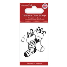 Dovecraft Clear Stamp Stockings (DCSTP172X18)