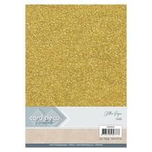 Card Deco A4 Glitter Paper Gold (CDEGP010)