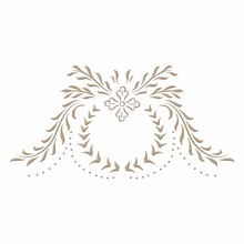 Spellbinders Cartouche Glimmer Hot Foil Plate (GLP-022)