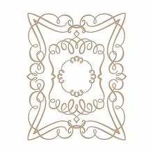 Spellbinders Elegant Rectangle Glimmer Hot Foil Plate (GLP-029)