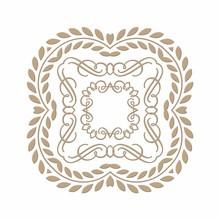 Spellbinders Elegant Square Glimmer Hot Foil Plate (GLP-031)