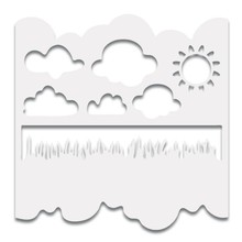 Polkadoodles 6x6 Inch Creative Stencil Great Outdoors (PD7389)
