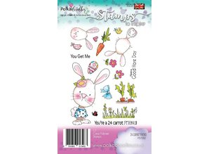 Polkadoodles 24 Carrot Friend Clear Stamps (PD7262)