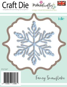 Polkadoodles Fancy Snowflake Dies (PD7367)