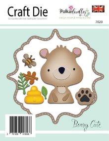 Polkadoodles Beary Cute Dies (PD7020)