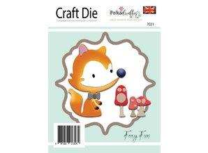 Polkadoodles Foxy Fun Dies (PD7021)