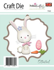 Polkadoodles Cottontail Dies (PD7022)