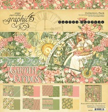 Graphic 45 Garden Goddess 12x12 Inch Collection Pack (4501753)