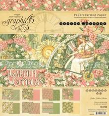 Graphic 45 Garden Goddess 8x8 Inch Paper Pad (4501752)