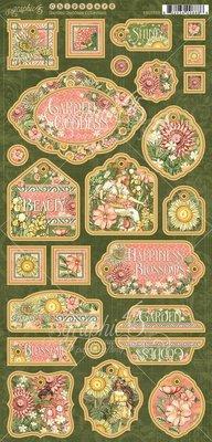 Graphic 45 Garden Goddess Chipboard (4501755)