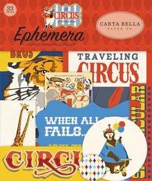 Carta Bella Circus Ephemera (CBCI93024)