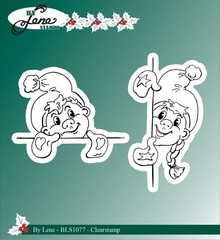 By Lene Clear Stamps Elves (BLS1077)