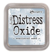 Ranger Distress Oxide Ink Pad Weathered Wood (TDO56331)