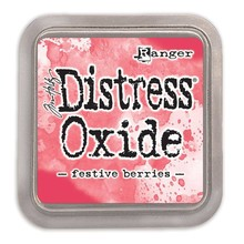 Ranger Distress Oxide Ink Pad Festive Berries (TDO55952)