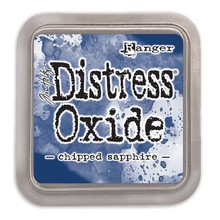 Ranger Distress Oxide Ink Pad Chipped Sapphire (TDO55884)