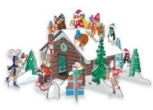 Roger La Borde Charlet Snow Pop & Slot Advent Calendar (POP 033)