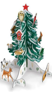 Roger La Borde Christmas Conifer Pop & Slot (POP 060)