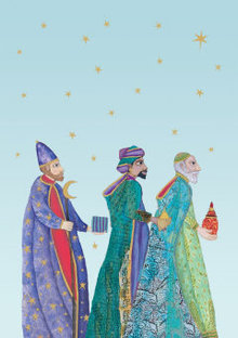 Roger La Borde We Three Kings Greeting Card (GCX 883)