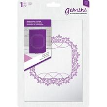 Gemini Holly Frame Embossing Folder (GEM-EF5-HFRAM)